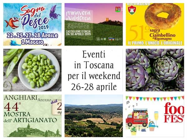 Eventi Toscana Aprile 2019