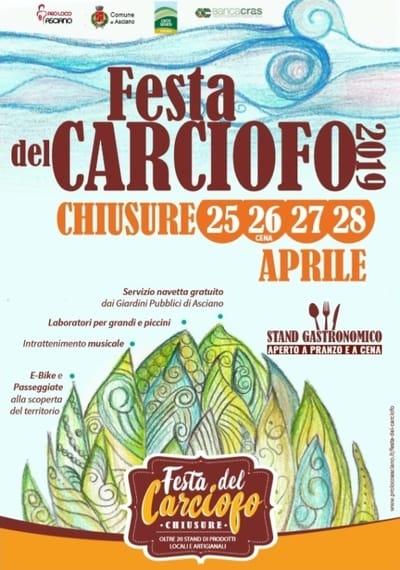 Festa Carciofo Chiusure 2019