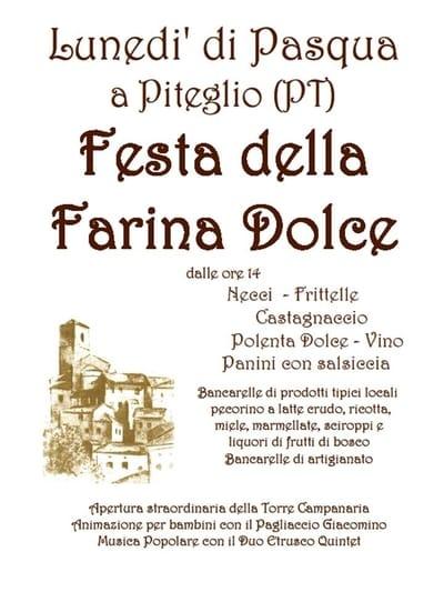 Festa Pasquetta Piteglio 2019