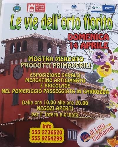 Orto Fiorito Loro Ciuffenna