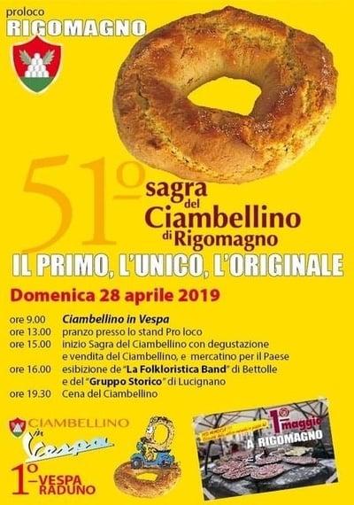 Sagra Ciambellino Rigomagno 2019