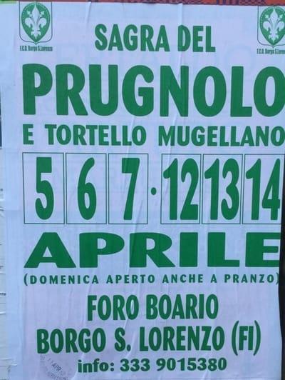 Sagra Prugnolo Mugello