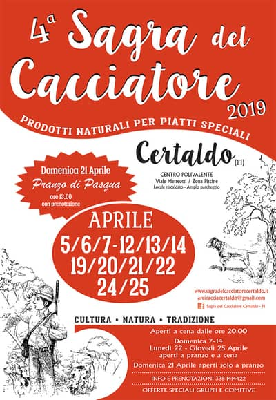 Sagre Pasqua Toscana 2019