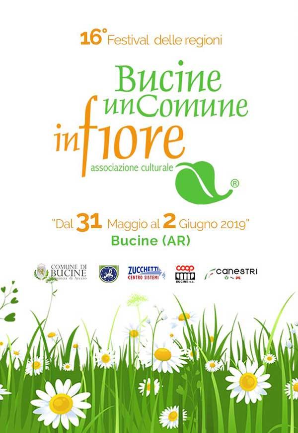 Bucine un Comune in Fiore - Festival delle Regioni 2019
