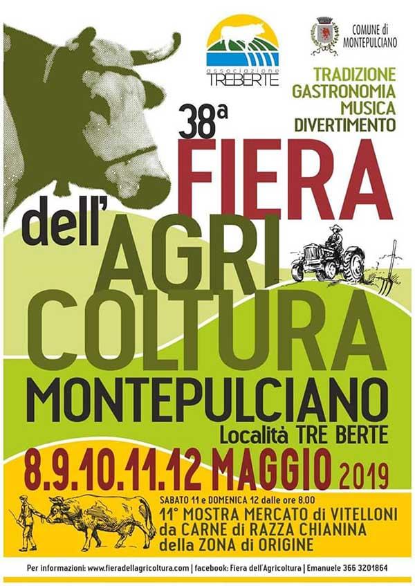 Fiera dell'Agricoltura Montepulciano 2019 - Manifesto