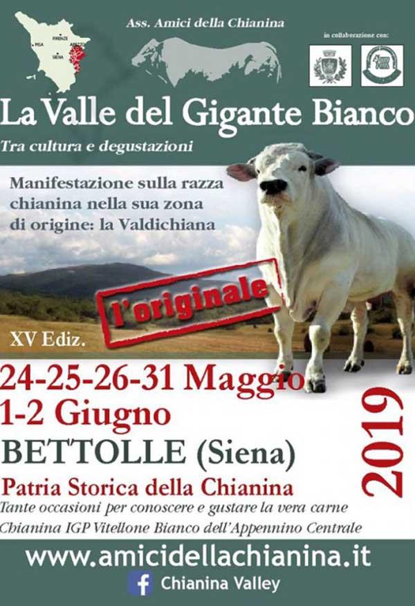 Sagra della Chianina 2019 - La Valle del Gigante Bianco 2019