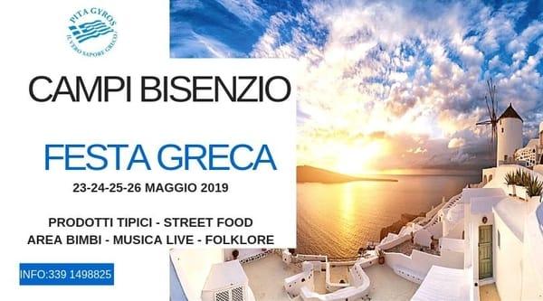 Festa Greca Campi Bisenzio 2019