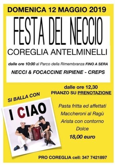 Festa Neccio 2019