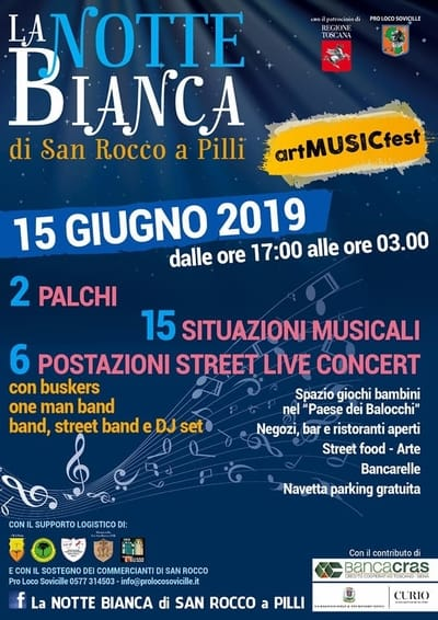Notte Bianca San Rocco a Pilli