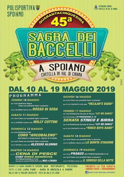 Sagra Baccelli Spoiano 2019