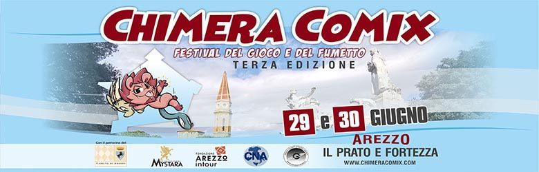 Chimera Comix 2019 - Arezzo 29 e 30 Giugno