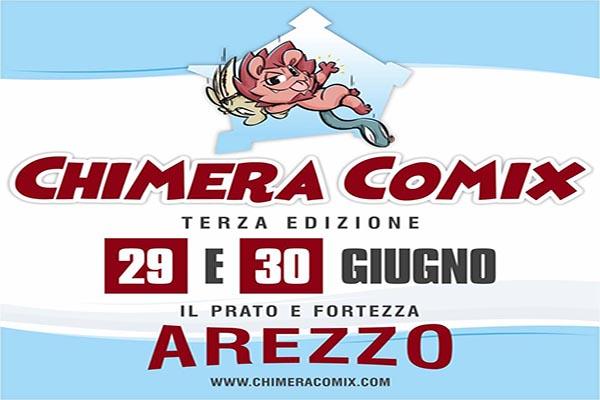 Chimera Comix 2019 - Parco della Fortezza Arezzo 29 e 30 Giugno