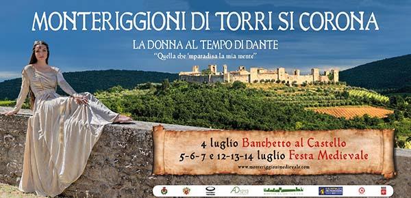 Festa Medievale Monteriggioni 2019 - Luglio 2019 Siena