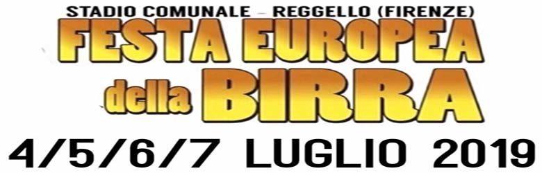 Festa della Birra 2019 a Reggello - Stadio Comunale - Festa Europea