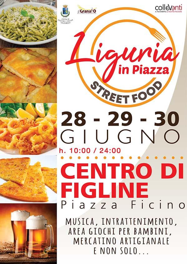 Liguria in Piazza 2019 Figline Incisa Valdarno - 28 29 e 30 Giugno