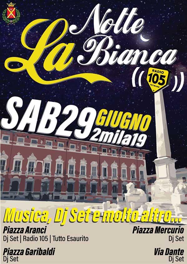 Notte Bianca 2019 a Massa - Provincia di Massa Carrara