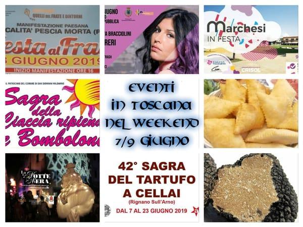 Eventi giugno Toscana secondo weekend