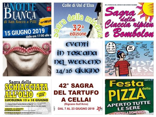 Eventi Toscana meta giugno