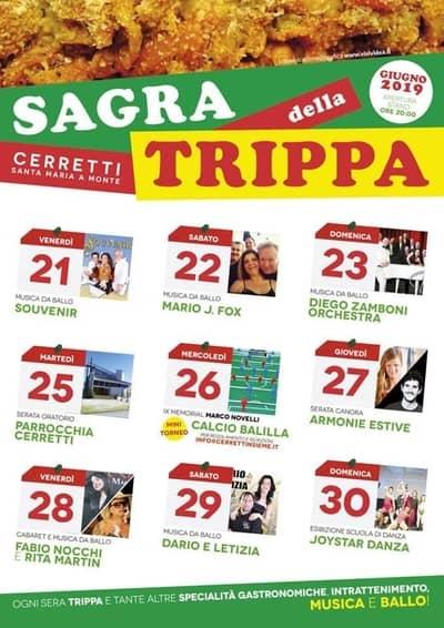 Sagra Trippa Cerreti 2019