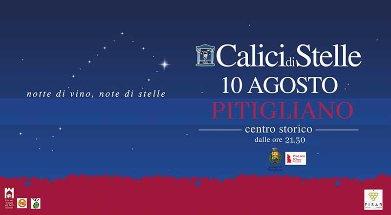 Calici di Stelle 2019 Pitigliano - 10 Agosto Centro Storico
