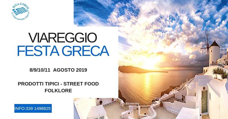 Festa Greca 2019 a Viareggio - Street Food e Folklore
