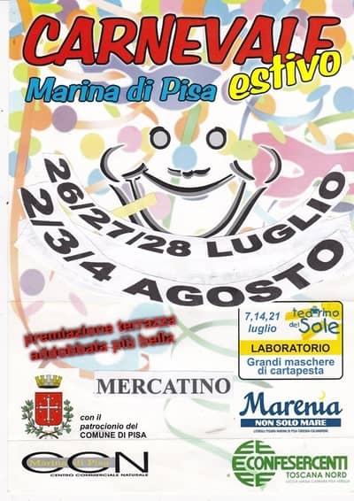 Carnevale Estivo Marina di Pisa
