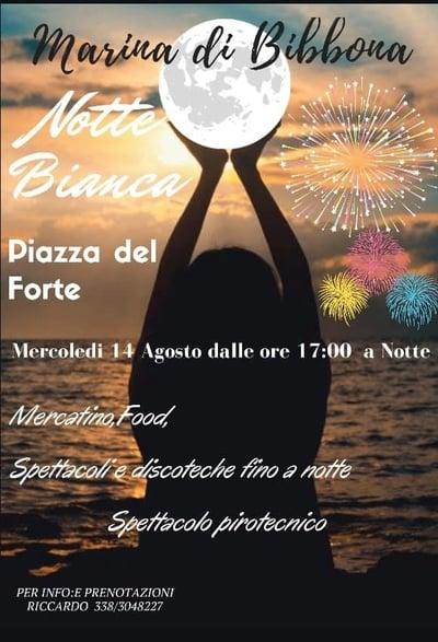 Notte Bianca Marina di Bibbona 2019