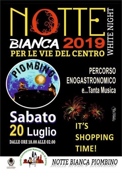 Notte Bianca Piombino 2019