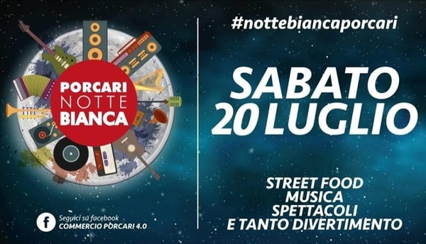 Notte Bianca Porcari 2019