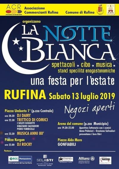 Notte Bianca Rufina 2019