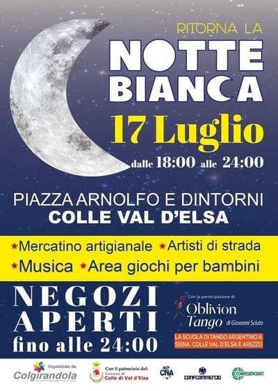Notte Bianca Valdelsa 2019