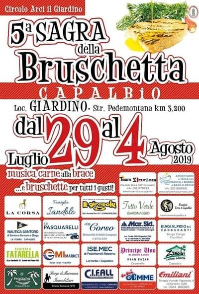Sagra Bruschetta Capalbio 2019