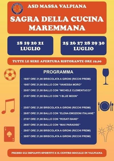 Sagra Cucina Maremmana Valpiana 2019