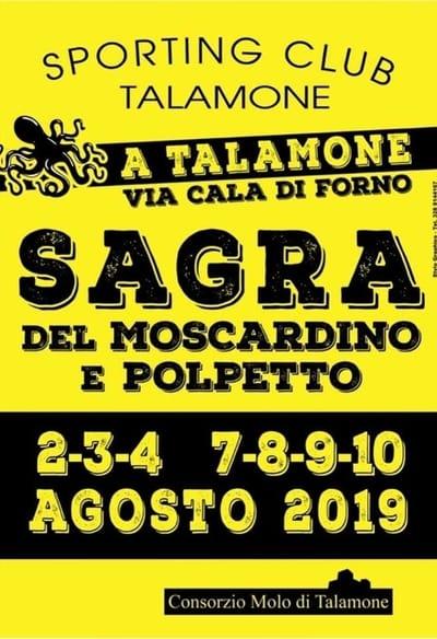 Sagra Moscardino Talamone 2019