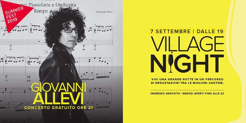 Giovanni Allevi in Concerto - Valdichiana Outlet Village - Settembre 2019