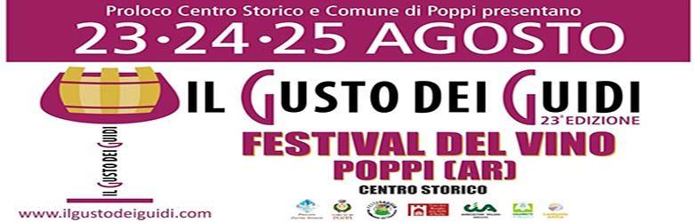 Il Gusto dei Guidi 2019 Poppi - Festival del Vino