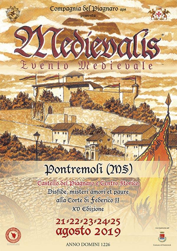 Manifesto Medievalis 2019 a Pontremoli - Festa Medievale