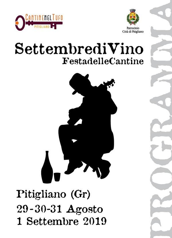 Programma Settembre Di Vino 2019 a Pitigliano - Festa della Cantine