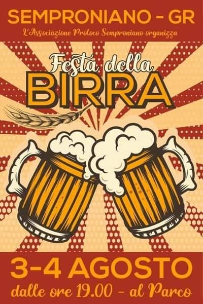 Festa Birra Semproniano 2019