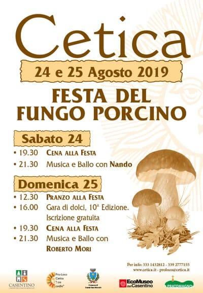 Festa Porcino Cetica 2019