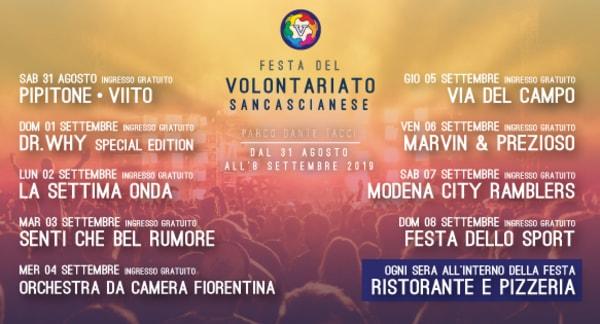 Festa Volontariato Sancascianese