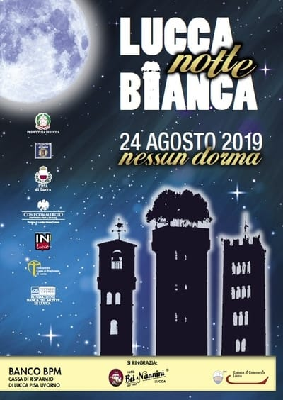 Notte Bianca Lucca 2019