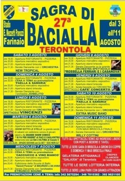 Sagra Bacialla 2019