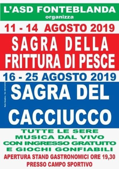 Sagra Fonteblanda Pesce 2019