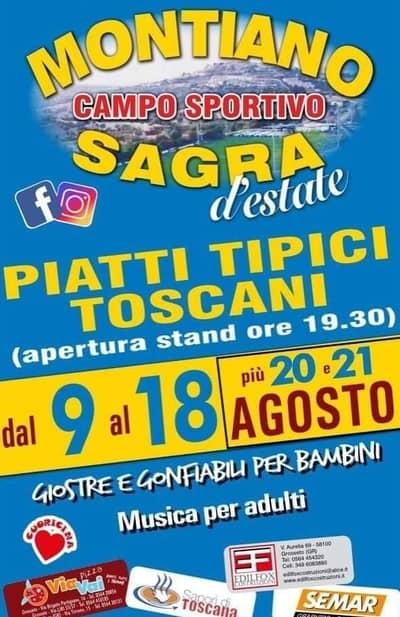 Sagra Piatti Tipici Montiano