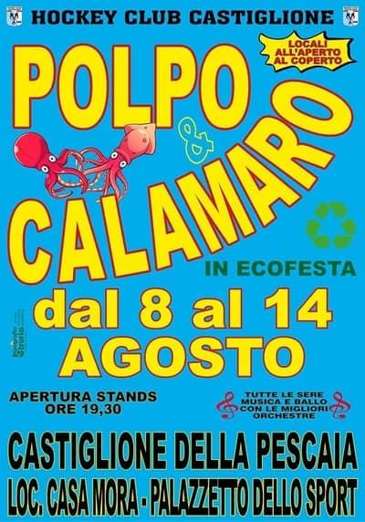Sagra Polpo Calamaro Castiglione