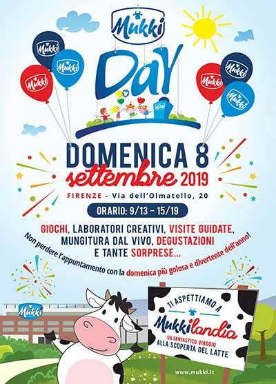 Manifesto Mukky Day 2019 - Domenica 8 Settembre Firenze