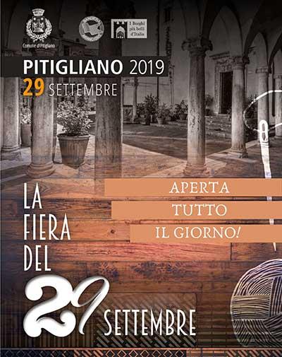 Manifesto della 501° Fiera di San Michele o Fiera del 29 Settembre a Pitigliano