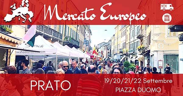Mercato Europeo a Prato 2019 - Piazza Duomo