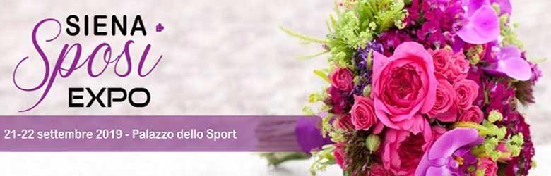 Siena Sposi Expo 21 e 22 Settembre 2019 - Palazzo dello Sport